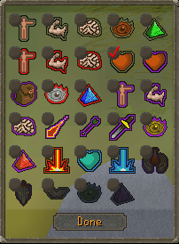 OSRS Quick Prayers Interface for Run Recovery